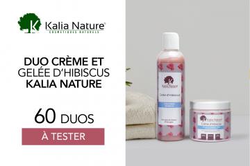 Crème + Gelée  d'hibiscus : 60 duos à tester !