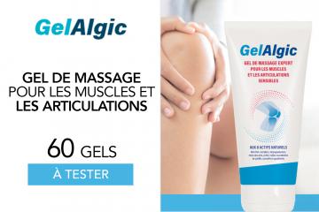 Gel'Algic : 60 gels à tester !
