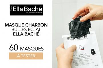 Le masque parfait pour une peau détoxifiée et éclatante : 60 Masques au Charbon Bulles Eclat à tester !