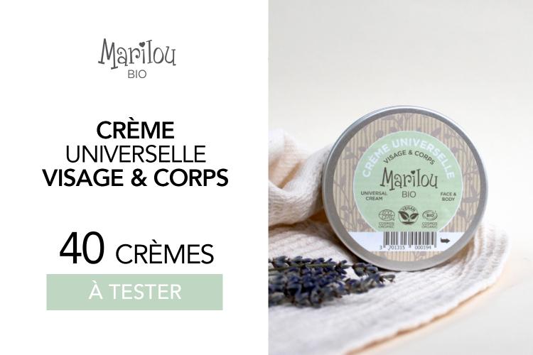 Crème Universelle Visage & Corps de Marilou Bio : 40 crèmes à tester !