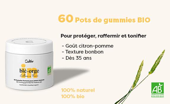 60 Gummies fermeté BIO de Cultiv