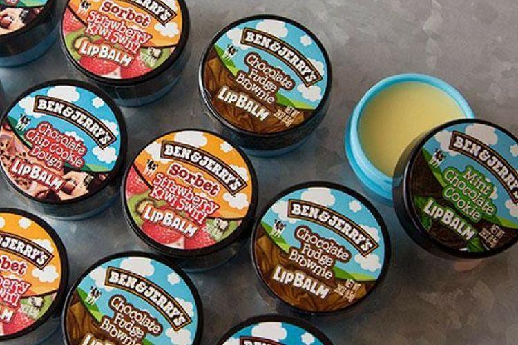 Ben & Jerry's lance sa gamme de baumes à lèvres