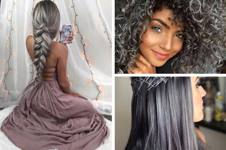 Charcoal Hair : la tendance des cheveux charbon