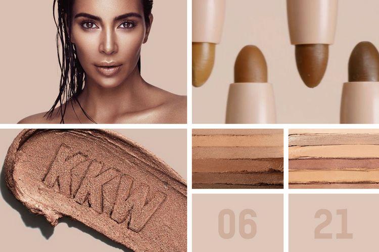 Kim Kardashian lance KKW Beauty, sa marque de maquillage