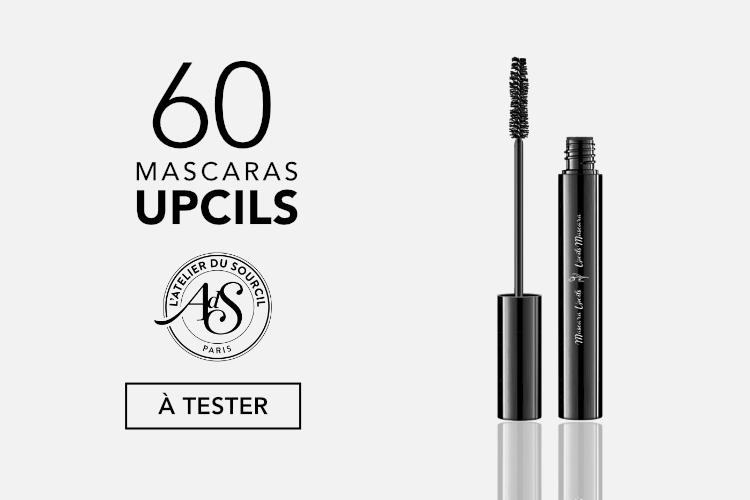 60 Mascaras Upcils de l'Atelier du Sourcil à tester