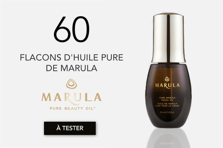 60 flacons d'Huile Pure de Marula à tester