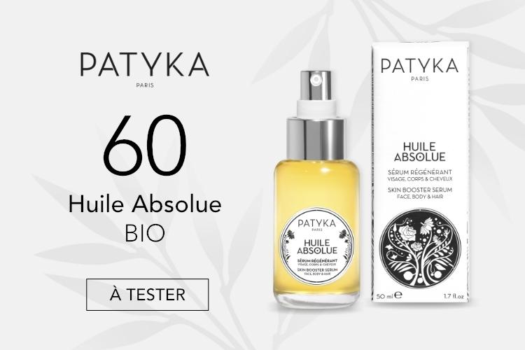 60 Huile Absolue Bio de Patyka à tester