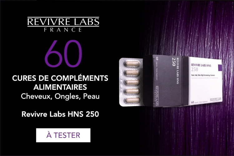 60 cures de compléments alimentaires soin complet sublimateur de beauté Revivre Labs HNS 250 à tester