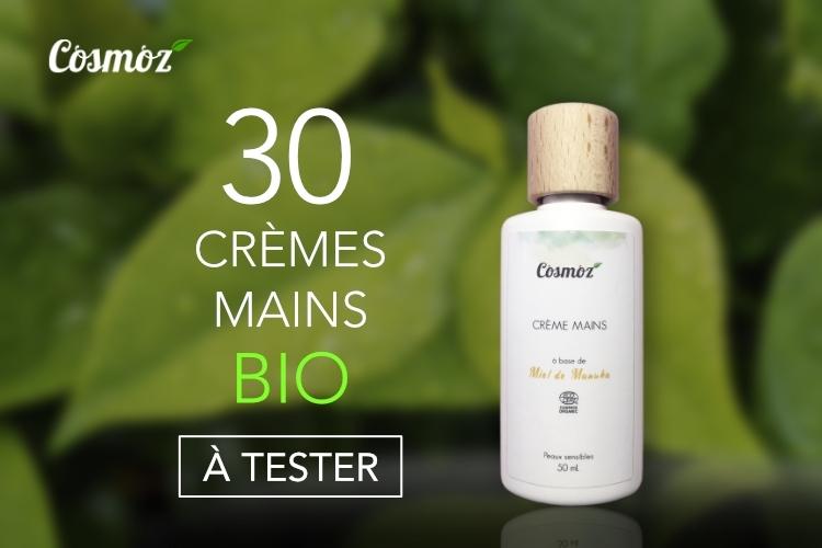 30 Crèmes Mains Cosmoz au Miel de Manuka à tester