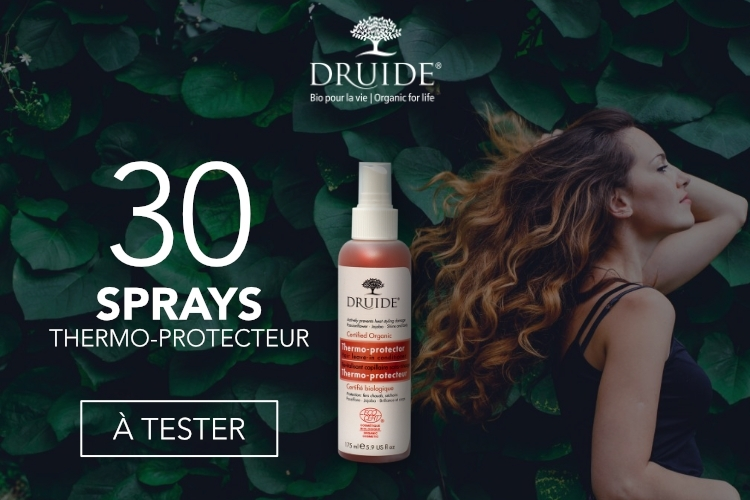 30 Sprays Thermo-protecteur Capillaire à tester