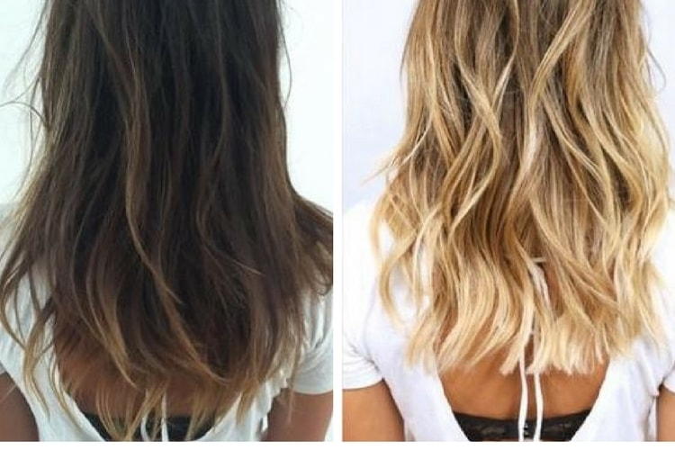 Colorer ses cheveux en blond