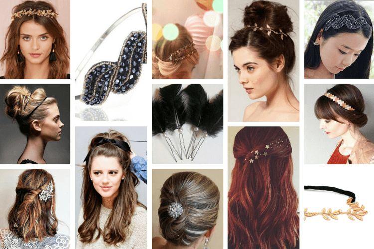 Sublimer une coiffure de fête avec des accessoires