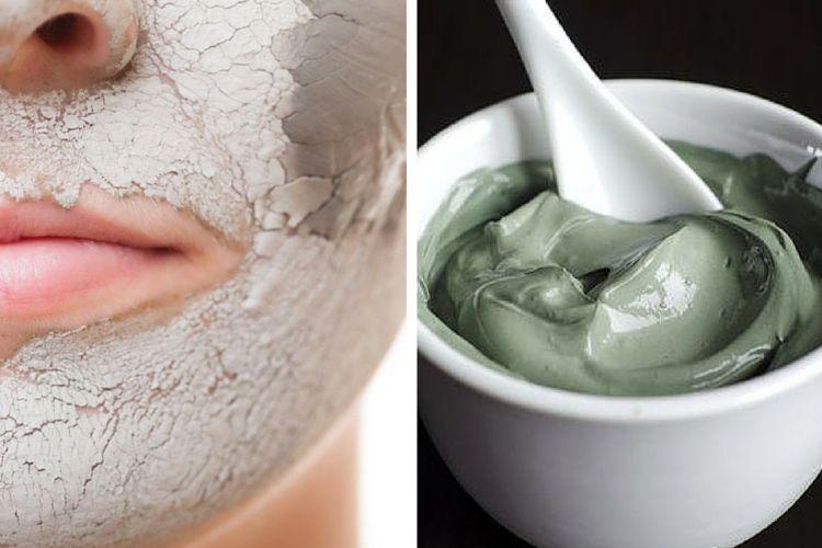 L'argile verte pour le visage