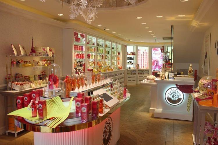 Visite de la Boutique du Bonheur de Roger Gallet