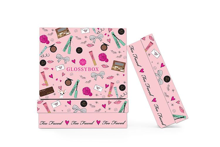 Glossybox and Too Faced : un coffret pour les beautystas !