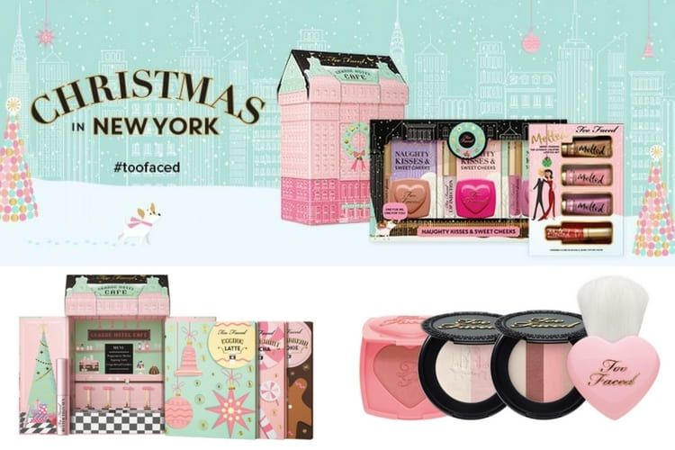 Les coffrets de maquillage Too Faced pour Noël 2016