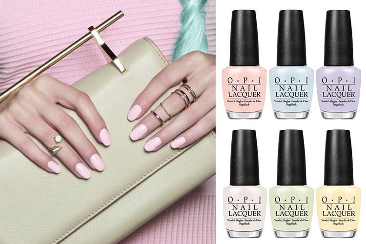 La collection d'OPI Soft Shades Pastel, pour le printemps 2016