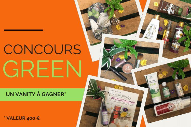 Concours : remportez votre Vanity green  !