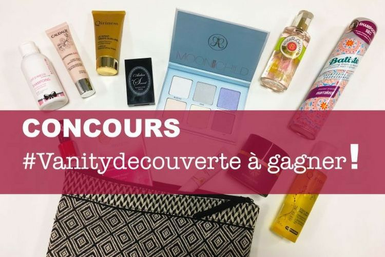 Concours de Février : Un Vanity Découverte à gagner !