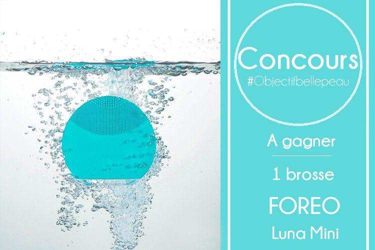 Une brosse nettoyante Luna Mini de Foreo à gagner