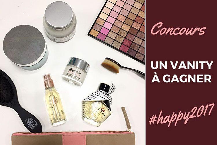 Concours : un vanity Happy 2017 à gagner
