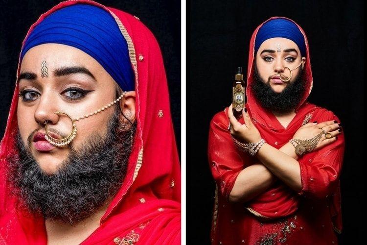 Harnaam Kaur : portrait de la dame à barbe