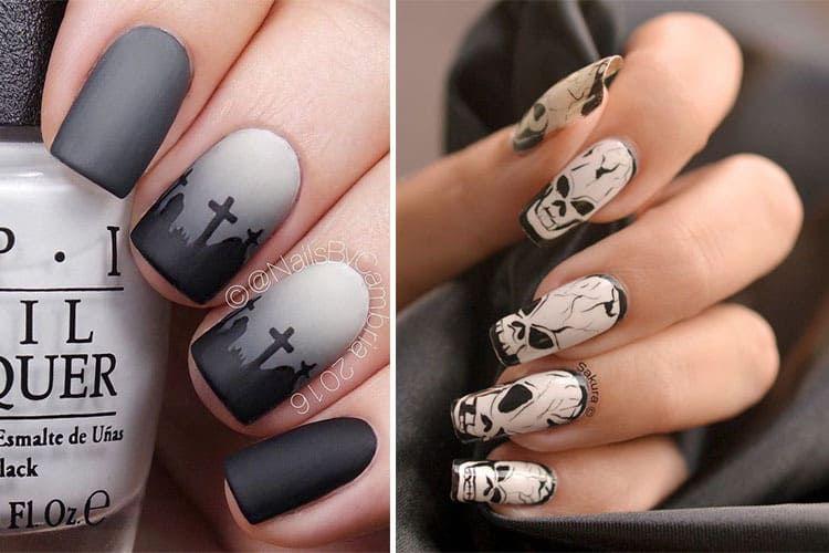 Nail art Halloween  10 idées horrifiques pour vos ongles