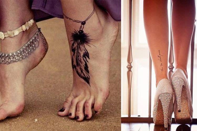 14 idées de tatouage de cheville