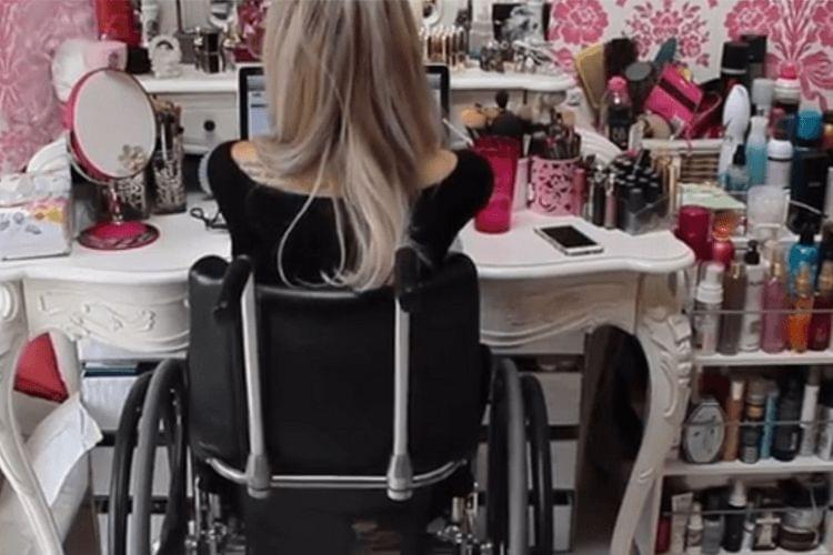 Jordan Bone ne voulait pas être la fille dans un fauteuil roulant