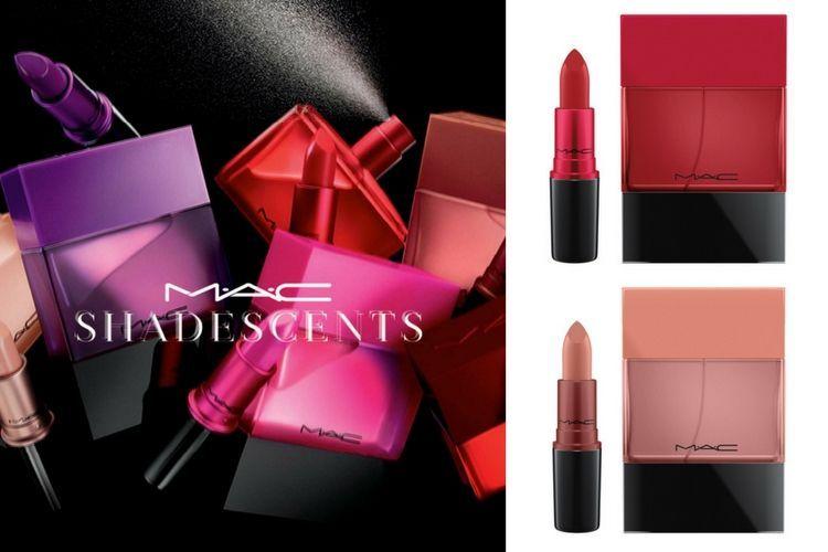 Mac lance Shadescents, les parfums de ses rouges à lèvres cultes