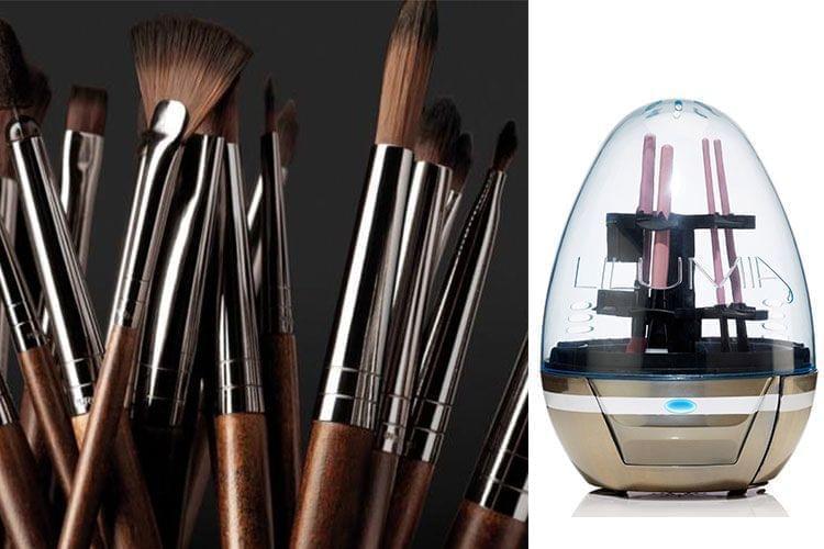 Lilumia présente la machine à nettoyer nos pinceaux de maquillage!