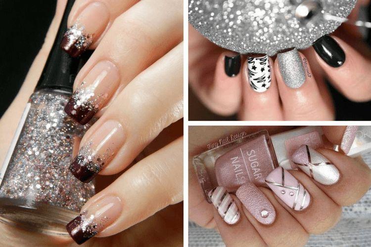 Les plus jolis nail arts pailletés