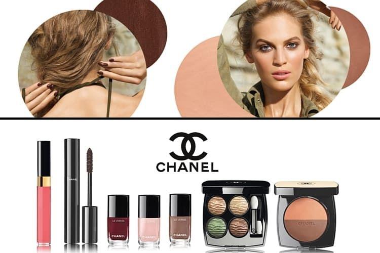 Dans la lumière de l'été, la collection de maquillage Chanel été 2016