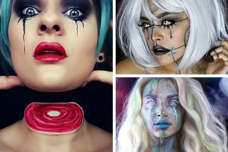 Maquillage halloween 3 comptes instagram inspirants - Image maquillage halloween ...
