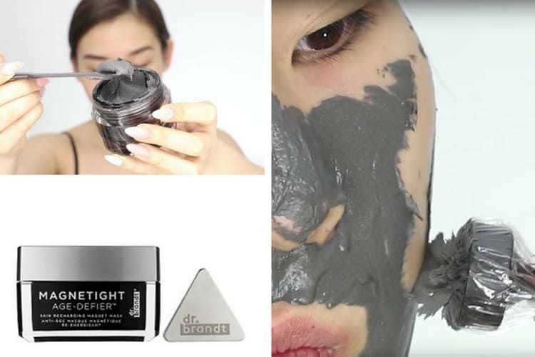 Tendance : le masque magnétique pour le visage