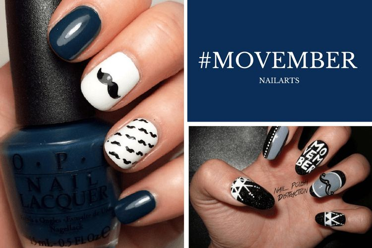 Movember inspire les nailartists