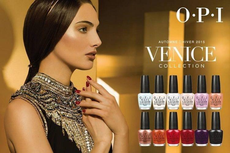 Venice : la nouvelle collection de vernis à ongles d'OPI