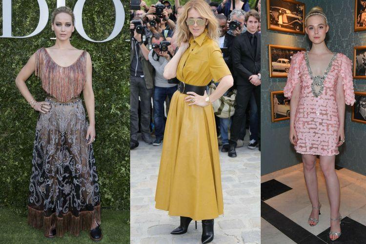 Les tendances beauté des stars à la Fashion Week de Paris