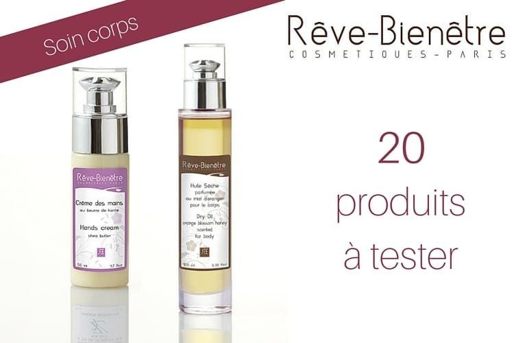 20 produits Rêve-Bienêtre à tester