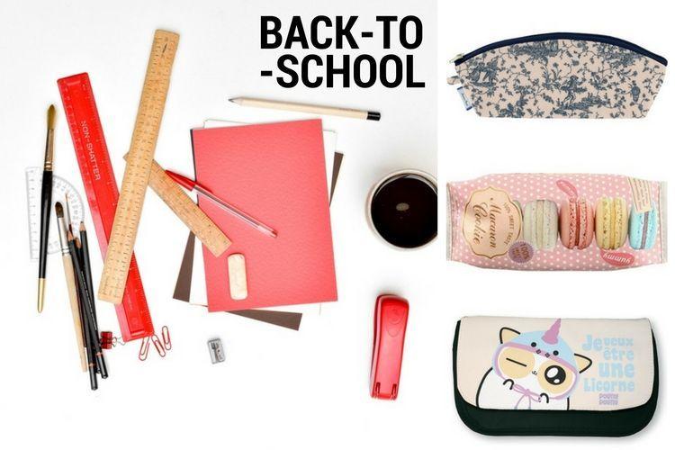 Les trousses scolaires qu'on pique à nos enfants pour ranger notre maquillage
