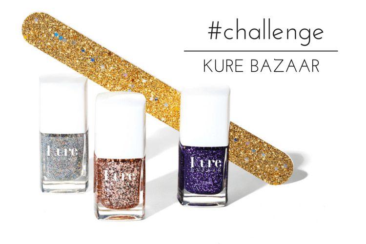Challenge : un Kit de vernis pailletés Kure Bazaar à gagner