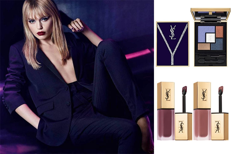 Yconic Purple, la collection de maquillage Yves Saint Laurent pour la rentrée