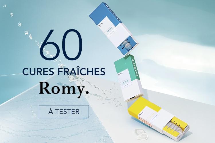 60 Cures Fraîches de Romy à tester
