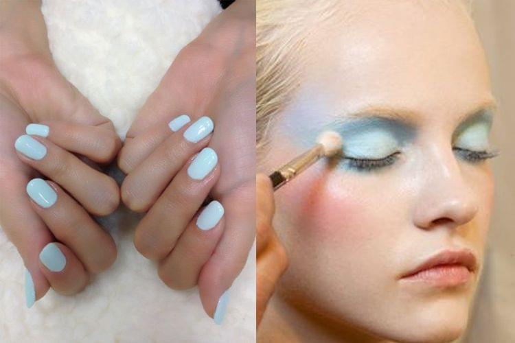 Beauté : 24 inspirations bleu pastel pour cet été !