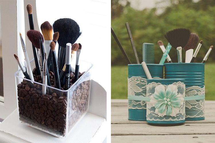5 idées de rangement pour vos pinceaux de maquillage