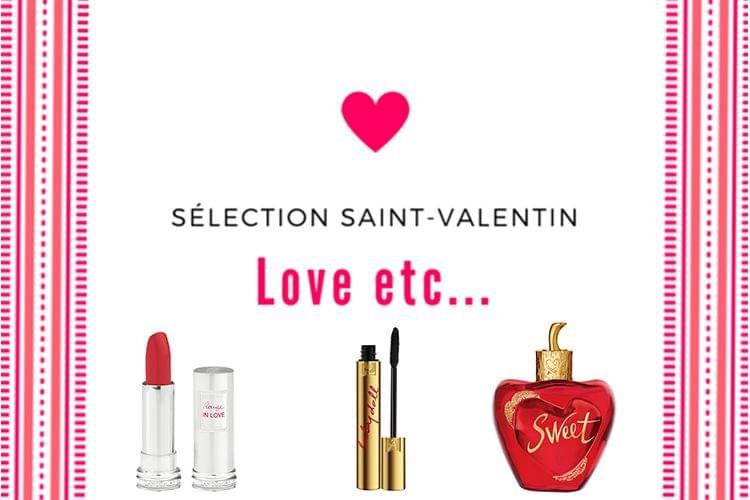 Sélection de cadeaux beauté pour la Saint Valentin