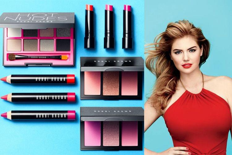 Maquillage : La Hot Collection de Bobbi Brown x Kate Upton