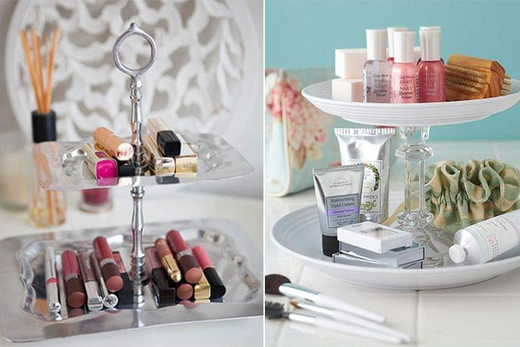Bathroom makeup vanities