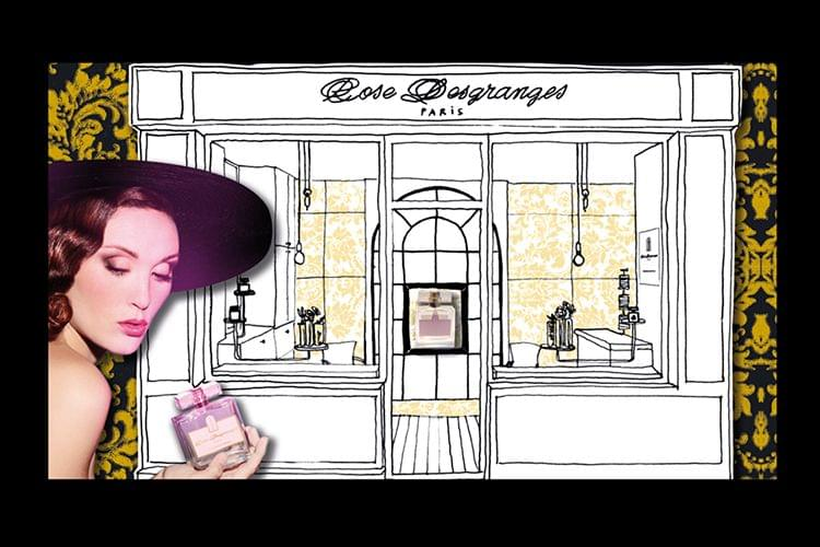 La boutique Rose Desgranges, une parfumerie d'exception