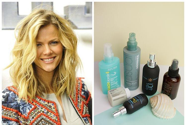 Obtenir des cheveux wavy avec un spray texturisant